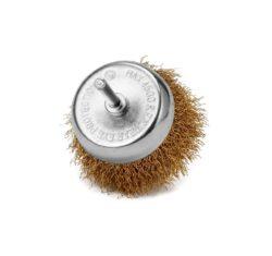 Szczotka-druciana-doczołowa-drut-falowany-trzpień